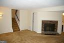 Wood burning Fireplace in Family Room - 5903 VERNONS OAK CT, BURKE