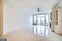 Gorgeous Marble Floors in Living and Dining Rooms - 440 BELMONT BAY DR #401, WOODBRIDGE