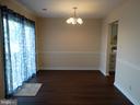 Dining Room - 11812 BUCHANAN CT, FREDERICKSBURG