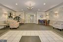 Main Lobby from Secure Door - 4310-T CANNON RIDGE CT #92, FAIRFAX