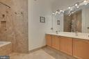 Quality Tiled Master bathroom - 4310-T CANNON RIDGE CT #92, FAIRFAX