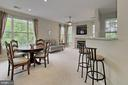 Open floor plan - 4310-T CANNON RIDGE CT #92, FAIRFAX