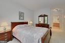Master bedroom - 4310-T CANNON RIDGE CT #92, FAIRFAX