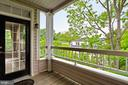 Private deck with Treed Privacy - 4310-T CANNON RIDGE CT #92, FAIRFAX
