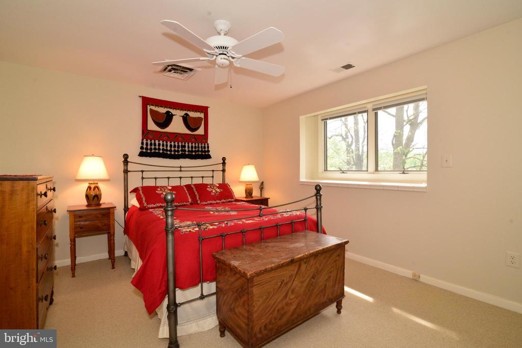 Bedroom #2 enjoys waterfront views. - 2201 BURGEE CT, RESTON