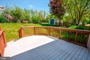 Spacious Deck (12X12) & Shed in Backyard - 318 OAKCREST MANOR DR NE, LEESBURG