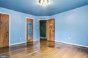 Master bedroom - 6942 28TH ST N, ARLINGTON