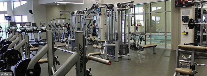 Ida Lee Park - Fitness Center - 318 OAKCREST MANOR DR NE, LEESBURG