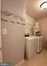 Upper bedroom level laundry room with Washer/Dryer - 4152 AGENCY LOOP, TRIANGLE