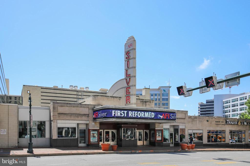 The Silver Theater in  Downtown Silver Spring - 6410 SLIGO MILL RD, TAKOMA PARK