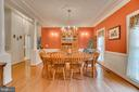 crown molding & grand collum details throughout - 85 TOWN AND COUNTRY DR, FREDERICKSBURG