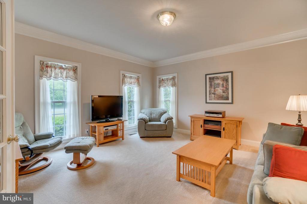 Large sitting room, extra multi use space - 85 TOWN AND COUNTRY DR, FREDERICKSBURG