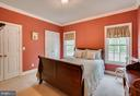 Bedroom with tree views - 85 TOWN AND COUNTRY DR, FREDERICKSBURG