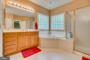 Large 1st floor master bath - 85 TOWN AND COUNTRY DR, FREDERICKSBURG