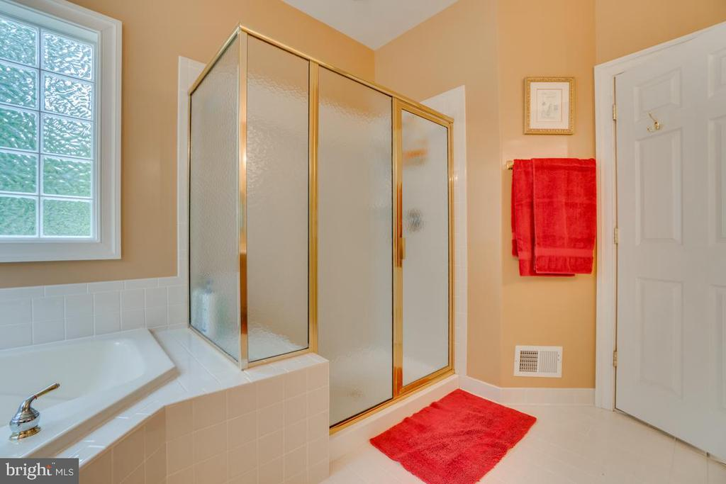 Standing glass shower - 85 TOWN AND COUNTRY DR, FREDERICKSBURG