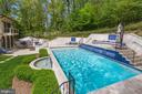 Wonderful pool and patio - 8505 MEADOWLARK LN, BETHESDA