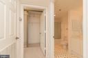 2nd bath, big closets! - 19385 CYPRESS RIDGE TER #1110, LEESBURG