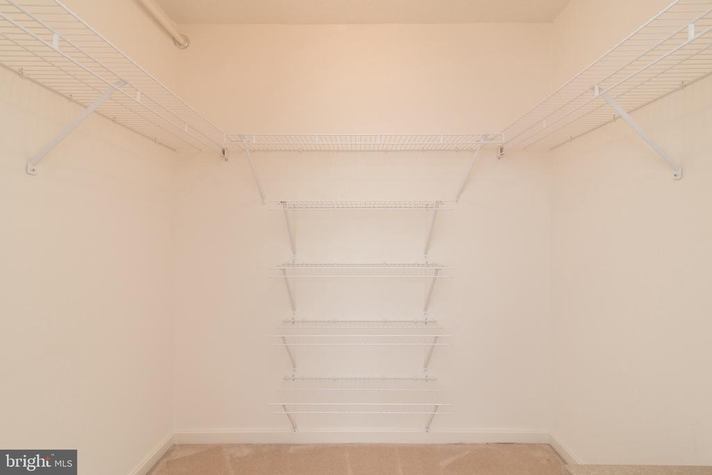 walking closet #2! - 19385 CYPRESS RIDGE TER #1110, LEESBURG