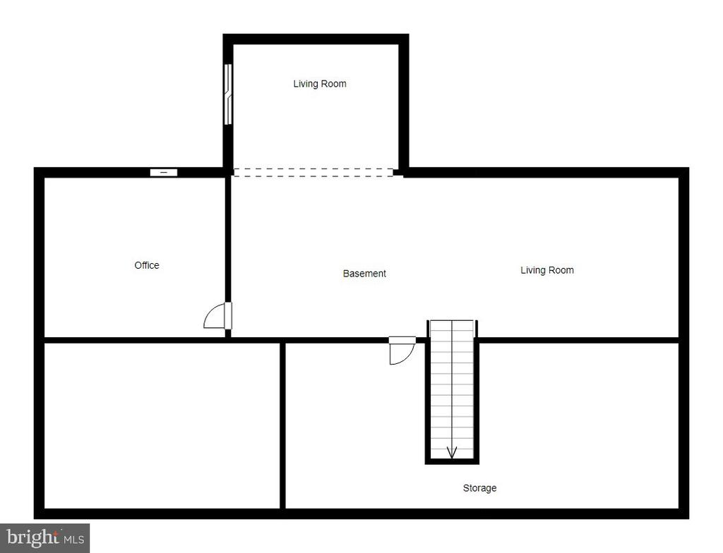 Basement Floor Plan - 5723 WOODBINE CT, FREDERICKSBURG