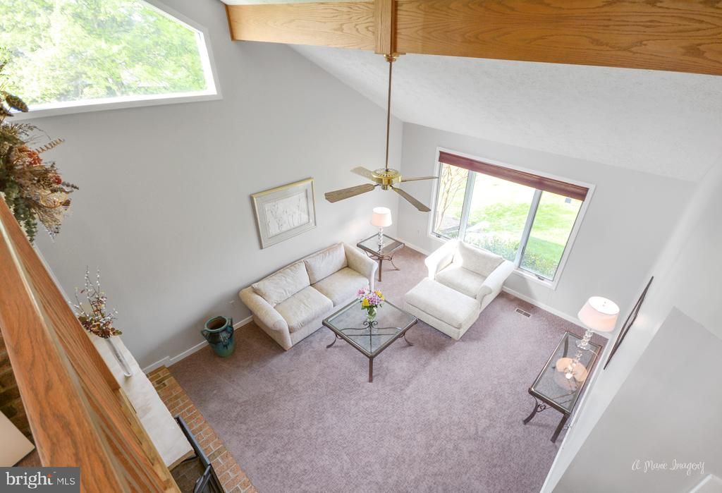 Balcony Overlook to Living Room - 3613 WESTCHESTER CT, MIDDLETOWN