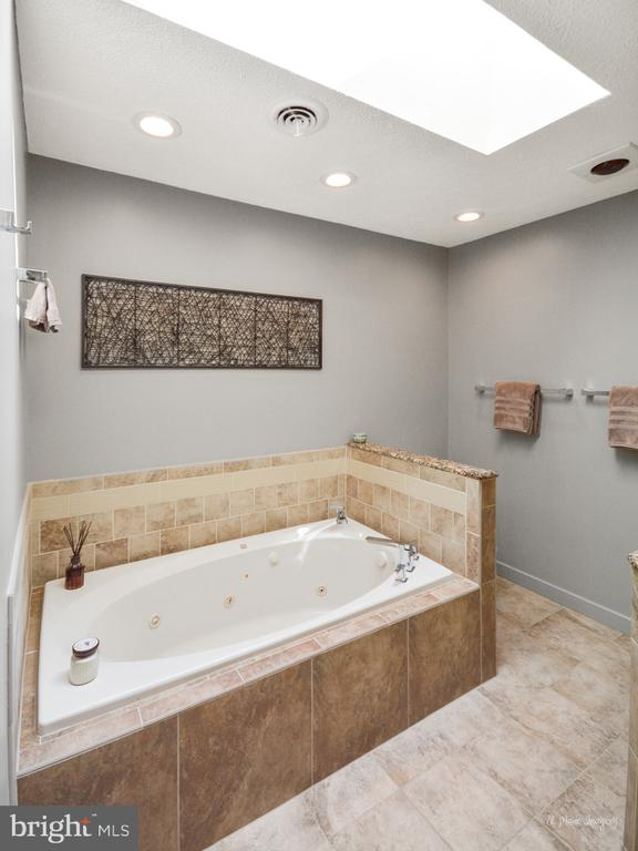 Master Bathroom w/Skylight and jetted soaking tub - 3613 WESTCHESTER CT, MIDDLETOWN