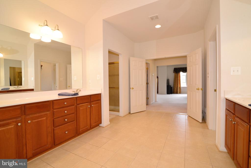 Dual vanities and 4 Walk-in Closets!!! - 1517 BROOKDALE CT, WINCHESTER