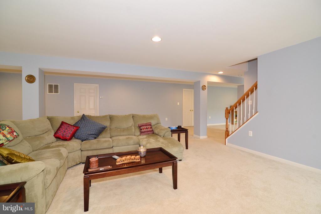 Lower level view - 1517 BROOKDALE CT, WINCHESTER
