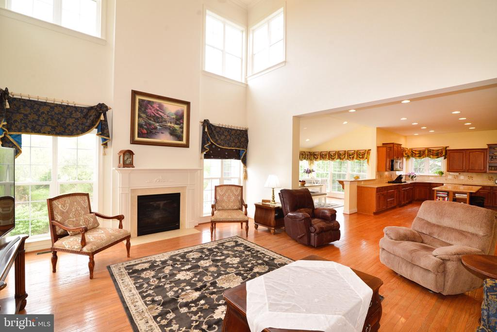 Open floorplan - 1517 BROOKDALE CT, WINCHESTER