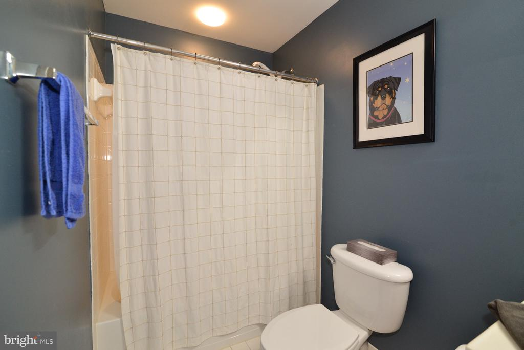 Lower level finished bathroom - 1517 BROOKDALE CT, WINCHESTER