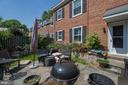Gorgeous patio with foilage - 4317 36TH ST S #A2, ARLINGTON