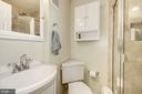 Downstairs bathroom - 4317 36TH ST S #A2, ARLINGTON