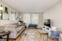 Living room with wood floors (main floor) - 4317 36TH ST S #A2, ARLINGTON