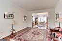Living Room Opens to Dining Room - 42212 MADTURKEY RUN PL, CHANTILLY