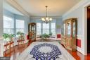 Two bay windows allow lots of natural light in DR - 42212 MADTURKEY RUN PL, CHANTILLY