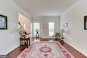 Gleaming hardwood floors throughout main level - 42212 MADTURKEY RUN PL, CHANTILLY