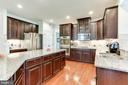 Upgraded Gourmet Kitchen - 42212 MADTURKEY RUN PL, CHANTILLY