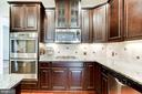 Stainless Steel Appliances & Tile Back Splash - 42212 MADTURKEY RUN PL, CHANTILLY