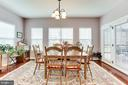 Morning Room with access to screened porch! - 42212 MADTURKEY RUN PL, CHANTILLY