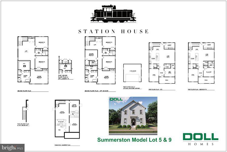 Summerston model floor plan - 01 JEFFERSON ST, HERNDON