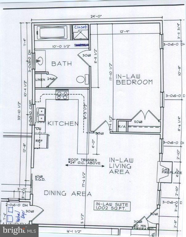 Apartment floor plans - 2843 GARRISONVILLE RD, STAFFORD