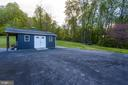 Shed, Two Barns with 5 Garage Bays, Tennis Court - 36585 SAWMILL LN, PURCELLVILLE