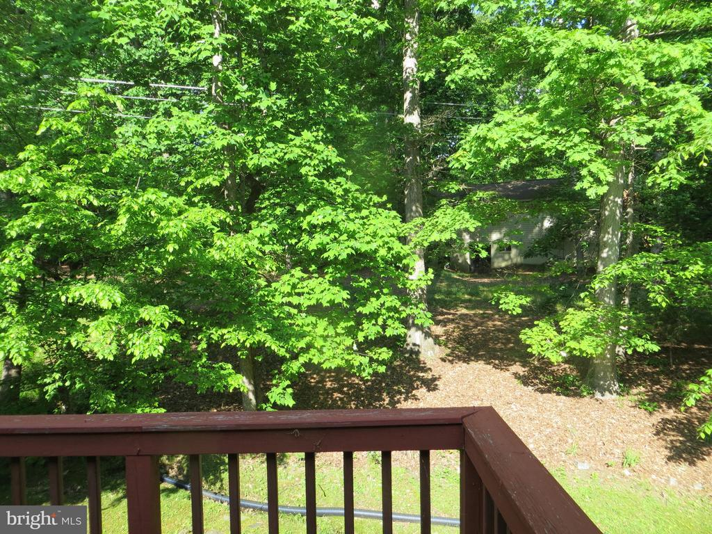Rear Deck overlook - 4021 LAKEVIEW PKWY, LOCUST GROVE