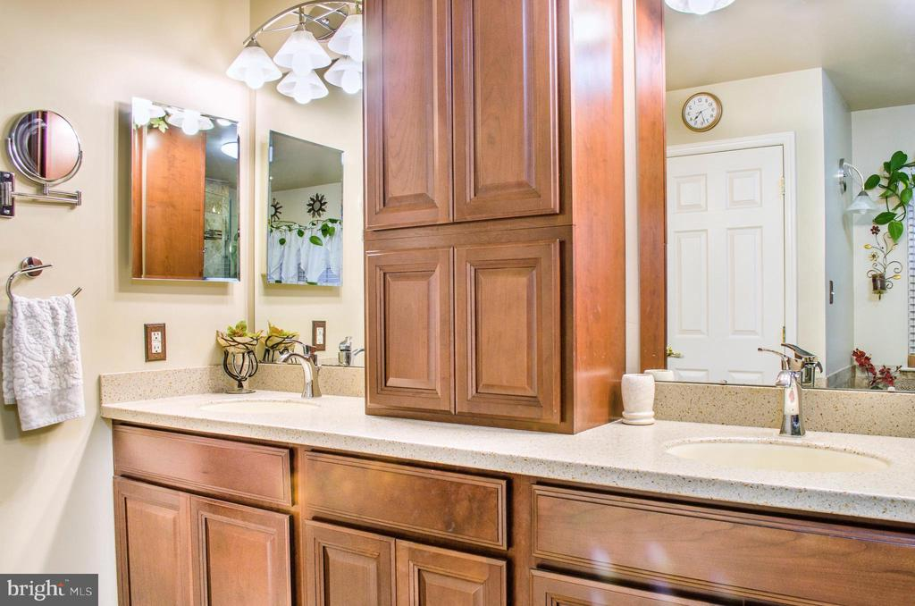Custom shelving, granite and double sinks - 1808 GREYSENS FERRY CT, POINT OF ROCKS