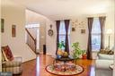Elegant formal living area - 1808 GREYSENS FERRY CT, POINT OF ROCKS