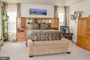 Spacious master with extra window - 1808 GREYSENS FERRY CT, POINT OF ROCKS