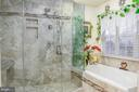 Custom master 2 head shower and jet tub - 1808 GREYSENS FERRY CT, POINT OF ROCKS