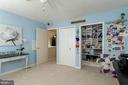 2 more closets! 1 with adjustable shelves - 6109 GLEN OAKS CT, SPRINGFIELD