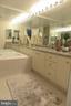 Owner's Bath with soaking tub - 5802 NICHOLSON LN #2-L02, ROCKVILLE