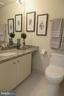 Hall bath view 2 granite counters - 5802 NICHOLSON LN #2-L02, ROCKVILLE