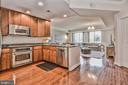 Kitchen - 3625 10TH ST N #308, ARLINGTON